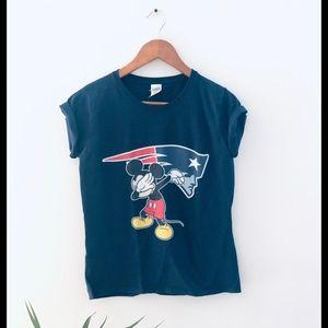 Disney New England Patriots T-Shirt Dab Graphic